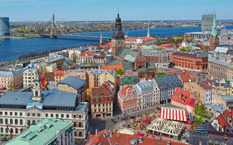 Stedentrip Europa: Riga