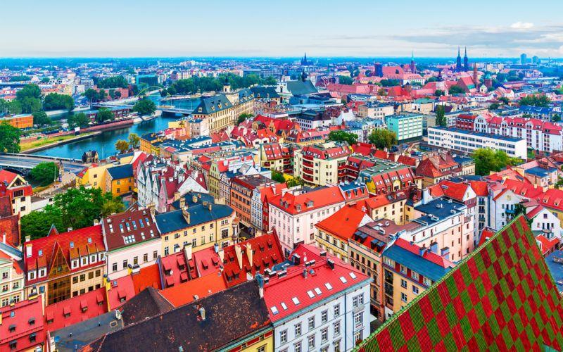 Stedentrip Europa: Wroclaw